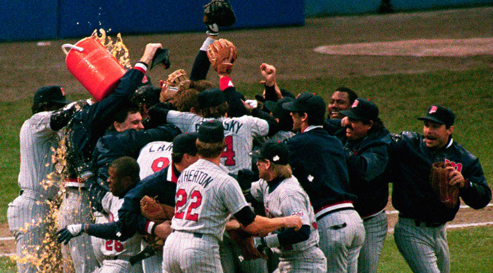 Photo of MLB – 1987 – ALCS Game 5 Tigers Vs Twins PostGame Show + Interviews With Tom Kelley + Kirby Puckett