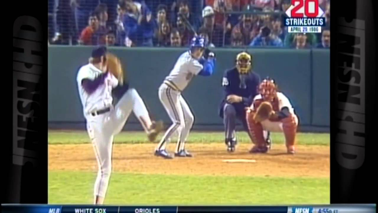 Photo of MLB – April 29th 1986 – NESN Sports Highlights – Red Sox Roger Clemens 20 Strikeout Game Vs Seattle