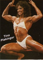 Photo of Body Building – 1986 – I F B B Ms Olympia Championships – Featuring Tina Plankinger