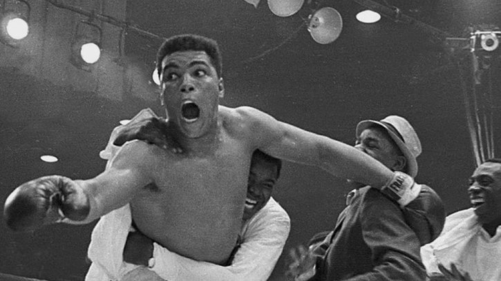 Photo of Boxing – 1984 – Trainer Angelo Dundee Sums Up Historic Significance Of Cassius Clay Win Over Liston