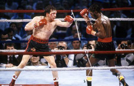Photo of Boxing – 1985 – Tim Ryan PreFight Show – WBA Lightwt Title – Ray Mancini Vs Livingstone Bramble II