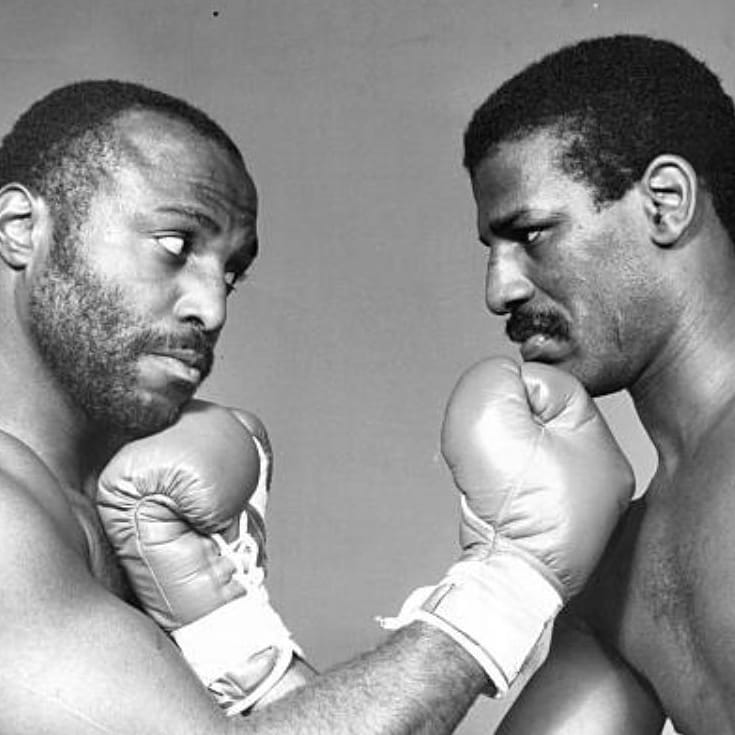 Photo of Boxing – 1983 – Barry Tompkins + Sugar Ray Leonard PreFight Analysis Spinks Vs Qawi Lt Heavywt Title