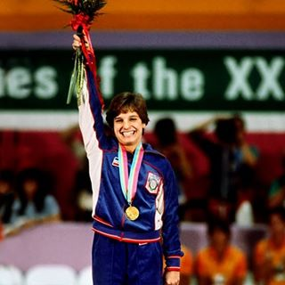 Photo of Music – 1984 – All American Olympic Band – Star Spangled Banner – Women's Gymnastics  Medal Ceremony