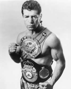 Photo of Boxing – 1985 – Former Middlewt Boxing Champion Vito Antuofermo On Style And Attitude