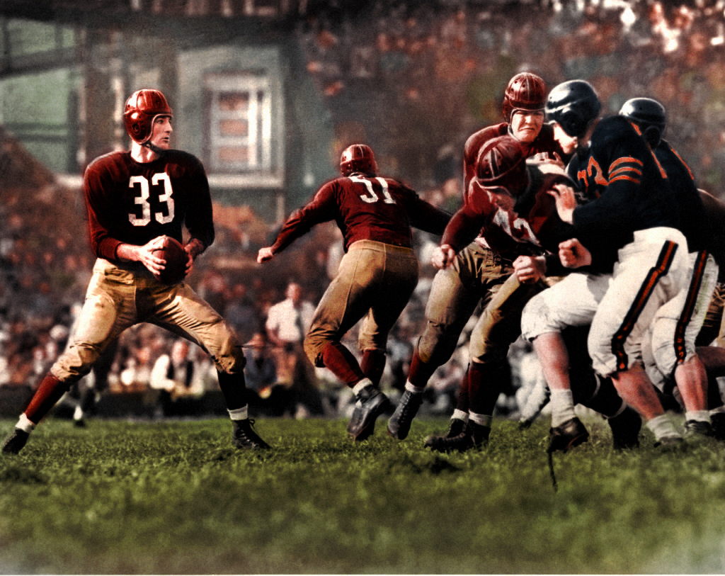 Photo of NFL – 1941 To 1945 – NFL Films – The Washington Redskins During The War Years – With Harry Kalas