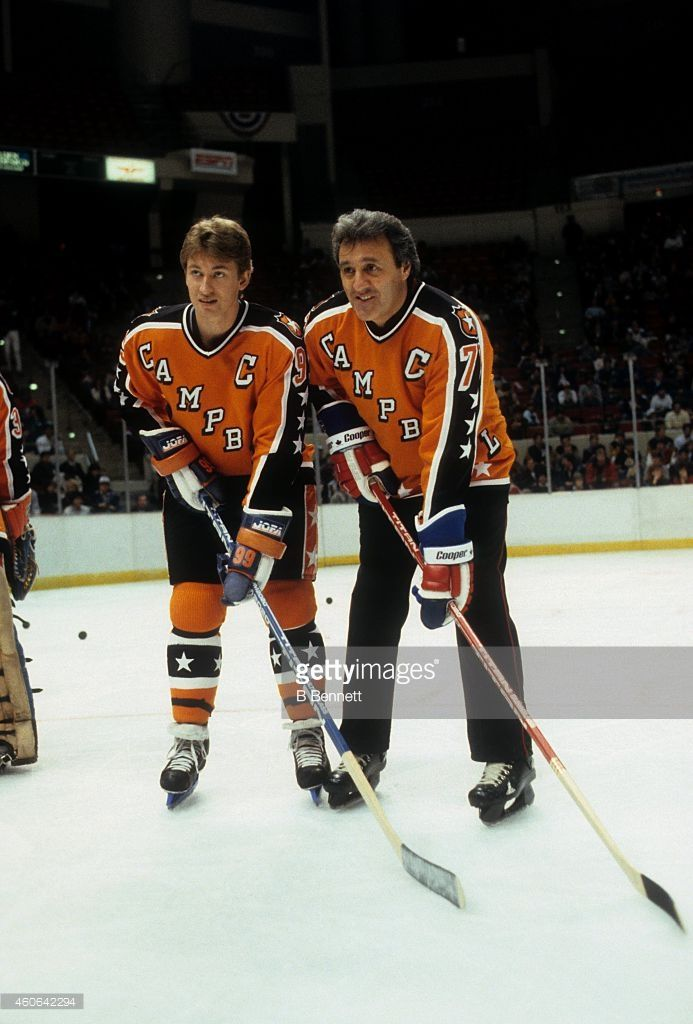 Photo of NHL – 1986 – All Star Game Sudden Death Overtime Play – With Sam Rosen + Mickey Redmond