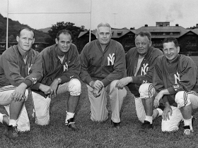 Photo of NFL – 1950s – NFL Films – The Team That Brought The D To Defense In New York – With Harry Kalas