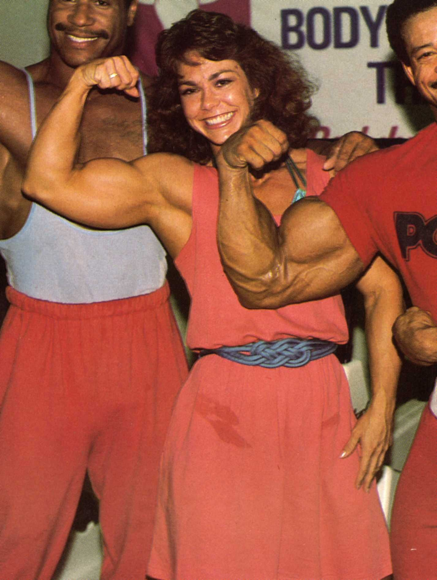 Photo of Body Building – 1986 – I F B B Ms Olympia Championships – Featuring Clare Furr