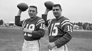 Photo of NFL – 1956 To 1976 – NFL Films – The Men Who Played The Game – QB Earl Morrall – With Steve Sabol