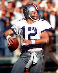 Photo of NFL – 1982 – NFL Films – Best Ever QBs – Cowboys Roger Staubach – With John Facenda