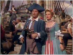 Photo of Comedy – 1944 – Bob Hope + Victor McLaglin In Scene From Movie The Princess & The Pirate