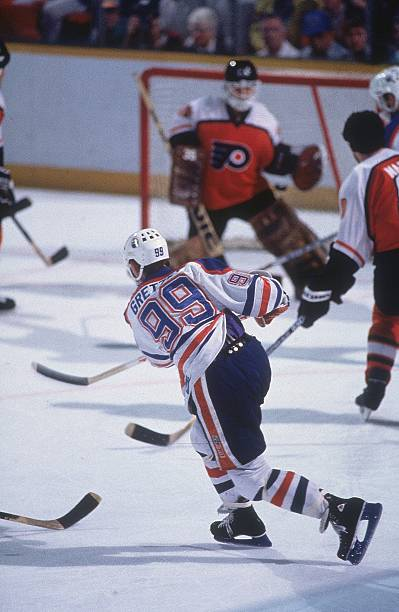 Photo of NHL – 1985 – Stanley Cup Finals Game 4 Oilers Vs Flyers Pregame Show  With Al Trautwig + Gary Green