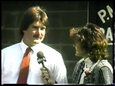 Photo of Horse Racing – 1987 – Kentucky Derby – PreRace Interview With Race  Favorite Demons Begone Trainer