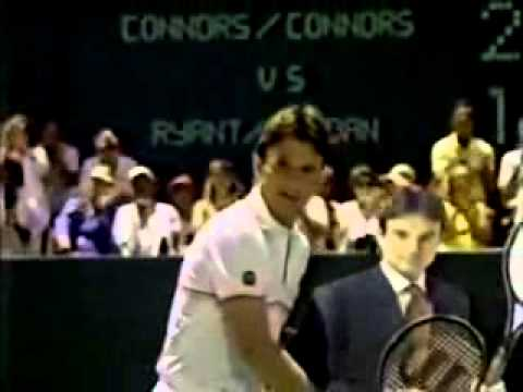 Photo of TV Ads – 1984 – Tennis Legend Jimmy Connors For Paine Webber Investments + Head & Shoulders Shampoo