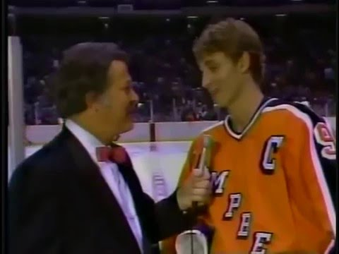 Photo of NHL – 1984 – 36th All Star Game Postgame Show – With Al Trautwig + Gary Green + Dan Kelly