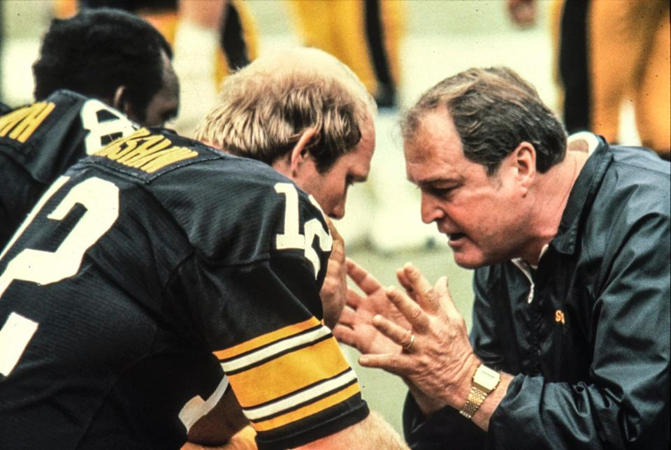 Photo of NFL – 1982 – NFL Films – Best Ever Teams – Coach Chuck Nolls Pittsburgh Steelers – With John Facenda