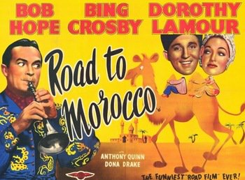 Photo of Music – 1942 – Bing Crosby + Dorothy Lamour + Bob Hope – Moonlight Become You –     Road To Morocco