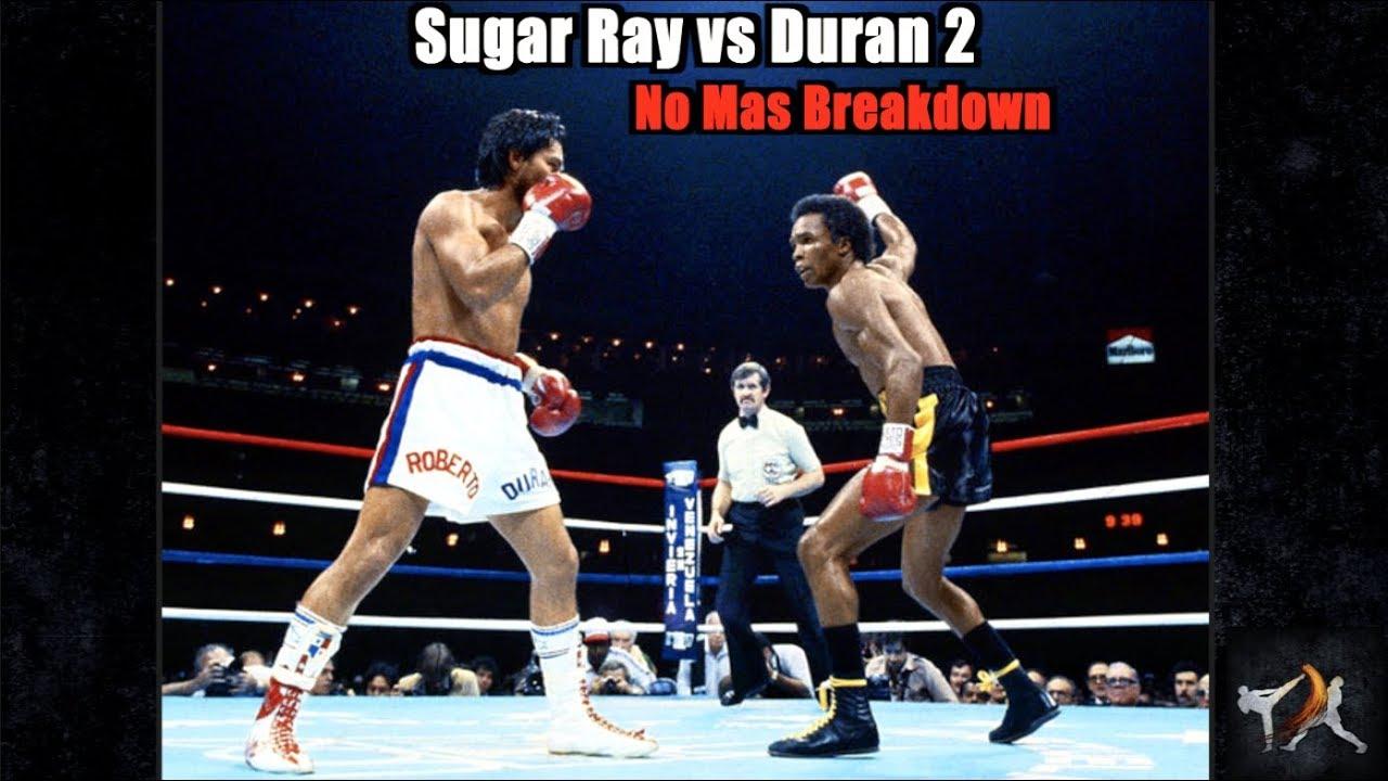 Photo of Boxing – 1980 – Howard Cosell's Historic Call Of Roberto Duran Saying NO MAS To Sugar Ray Leonard