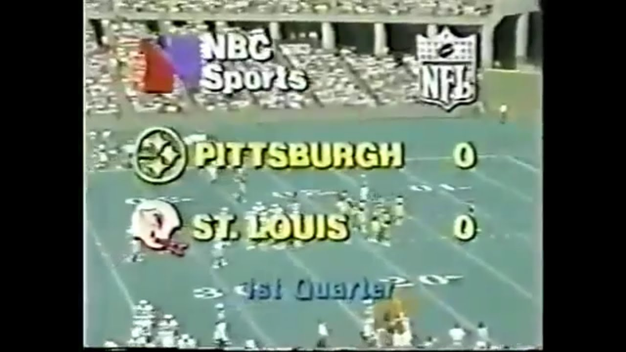 Photo of NFL – 1979 – NFL FIlms – Week 3 Of St Louis Cardinals Vs Pittsburgh Steelers Highlights