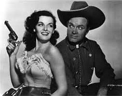 Photo of Movie – 1948 + 1952 – Scenes From The Paleface & Son Of Paleface – With Bob Hope + Jane Russell