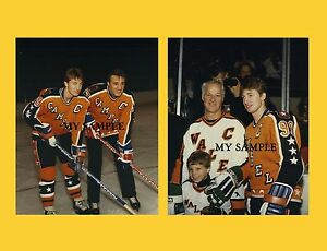 Photo of NHL – 1986 – 38th All Star Game Introduction Of Wales Conference Stars – With Jim Kelly