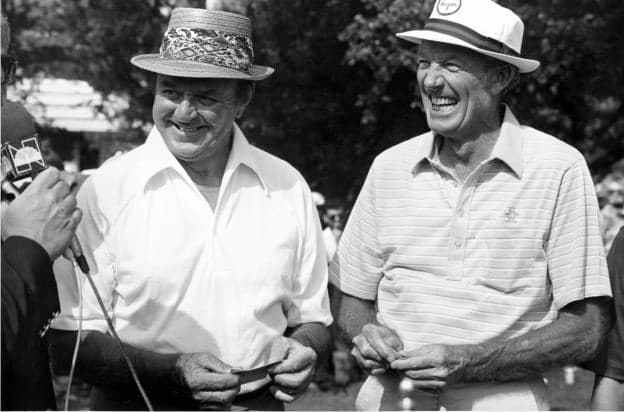 Photo of Golf – 1982 – Highlights Of Legends Of Golf Tournament – With Sam Snead + Don January