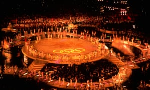 Photo of Olympics – 1984 – L A Games – The Spectacle Of The Closing Ceremonies – With Host ABCs Jim McKay