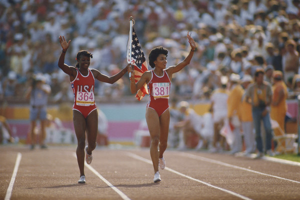 Photo of Music – 1984 – All American Olympic Band – Star Spangled Banner – USA Valerie Brisco Hooks Gold 200m