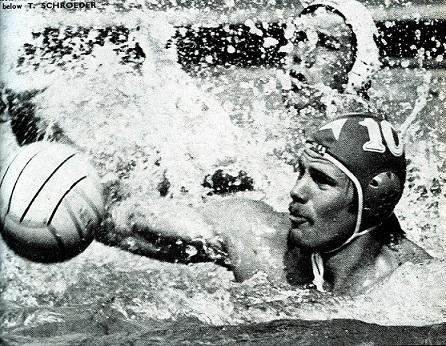 Photo of Olympics – 1984 – L A Games – Interview USA Water Polo Captain Terry Schroeder Prior To Gold Match