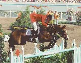 Photo of Olympics – 1984 – L A Games – Equestrian – Interview With Show Jumping Gold Medalist USA  Joe Fargis