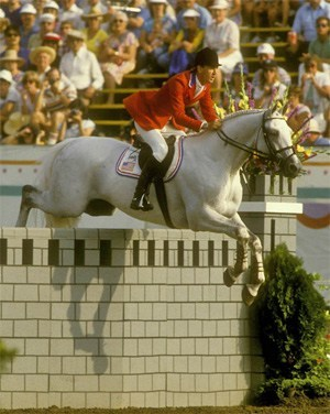 Photo of Olympics – 1984 – L A Games – Equestrian Indiv Show Jump – 2nd Rnd – USA Conrad Homfeld On Abdullah