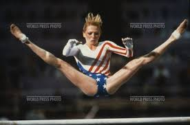 Photo of Olympics – 1984 – L A Games – Gymnastics – Womens All Around Uneven Bars – USA Julianne McNamara
