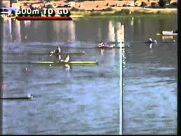 Photo of Olympics – 1984 – L A Games – Rowing Womens Single Sculls – ROM Valeria Racila + USA Carlie Geer