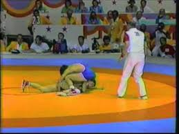 Photo of Olympics – 1984 – L A Games – Interview With Wrestling Freestyle Gold Medal Winner USA Randy Lewis
