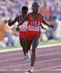 Photo of Olympics – 1984 – L A Games – Special – Profile Of Life + Career Of USA Sprinter Evelyn Ashford