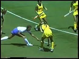 Photo of Olympics – 1984 – L A Games – Women Field Hockey – Interview USA Coach Vonnie Gros Prior To AUS Game