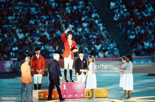 Photo of Music – 1984 – All American Olympic Band – Star Spangled Banner – Olympic Equestrian Medal Ceremony