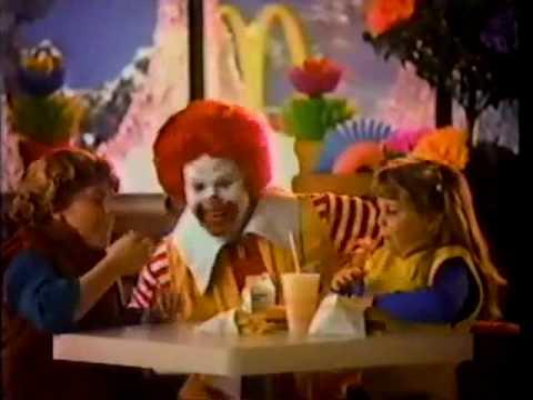 Photo of TV Ads   1984   McDonalds Burgers & Fries + Advil Pain Relief Medicine