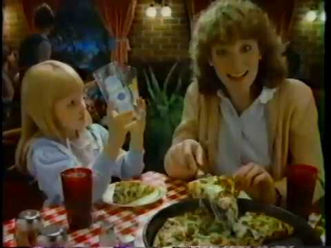 Photo of TV Ads – 1984 – Pizza Hut Restaurants + TAB Soda + GE Electronics + Miller Beer + Soap Opera Promos