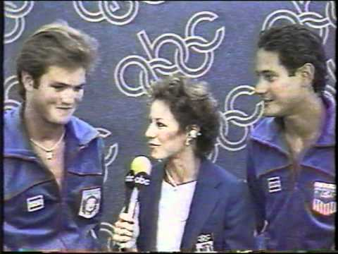 Photo of Olympics – 1984 – L A Games – Men's Platform Diving – Interviews With Greg Loughanis + Bruce Kimball
