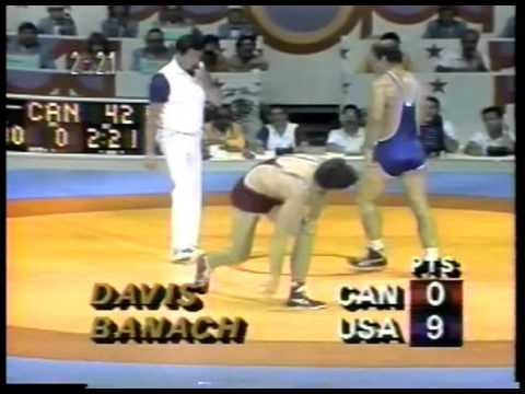Photo of Olympics – 1984 – L A Games – Curt Gowdy Profiles Freestyle Wrestling 90kg Gold Winner USA Ed Banach