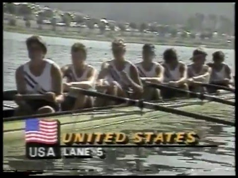 Photo of Olympics – 1984 – L A Games – Rowing – Womens Eights Finals – USA Gold + ROM Silver + HOL Bronze