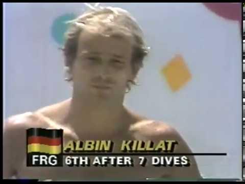Photo of Olympics – 1984 – L A Games – Diving – Mens 10m Platform – Dive 9 – FRG Albin Killat