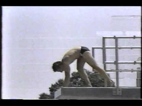Photo of Olympics – 1984 – L A Games – Diving – Mens 10m Platform – Dive 9 – CAN David Bedard