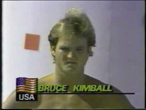 Photo of Olympics – 1984 – L A Games – Diving – Mens 10m Platform – Dive 7 – USA Bruce Kimball
