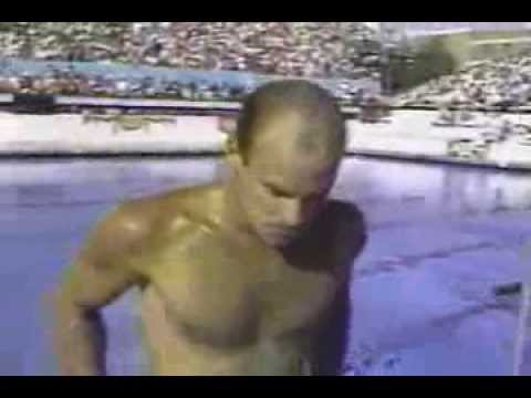 Photo of Olympics – 1984 – L A Games – Diving – Mens 3m Springboard Prelims – Dive 6 – USA Ron Merriott