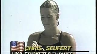 Photo of Olympics – 1984 – L A Games – Diving – Womens Springboard Prelims – Dive 8 – USA Christina Seufert