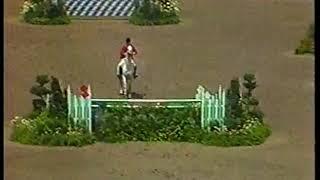 Photo of Olympics – 1984 – L A Games – Equestrian Team Show Jump – Rnd 1 – USA Conrad Homfeld + Abbdulla