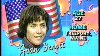 Photo of Olympics – 1984 – L A Games – Track – USA Womens Marathon Joan Benoit Profile Up Close And Personal
