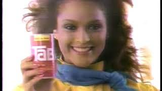 Photo of TV Ads – 1984 – Sportscaster Jayne Kennedy For TAB Soda + Johnson & Johnson Baby Oil